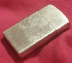 Vintage-slim-Zippo-lighter-ANTIQUE-ESTATE-SALE-FIND-true-vintage