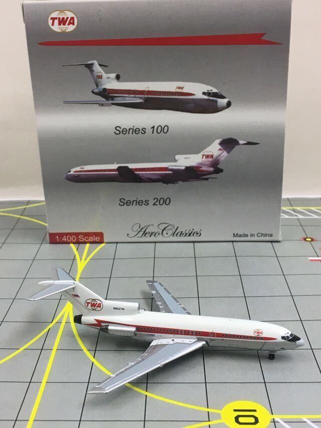 AeroClassics 1 400 TWA Trans Trans Trans World Airlines Boeing 727 N852TW d49cee