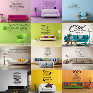 Bible-Verse-Vinyl-Wall-Decals-Stickers-Religious-Decor-Christian-Quote-Wall-Art