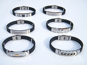 HIGH-QUALITY-STAINLESS-STEEL-316L-WRISTBAND-MEN-039-S-JEWELLERY-BRACELET