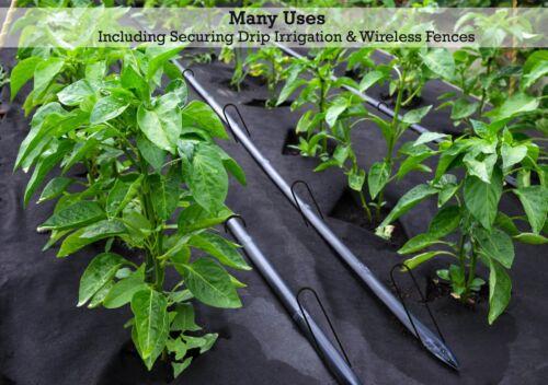"Sandbaggy 25-12/"" Landscape Staples~SOD Staples Garden Stakes Weed Barrier Pins"