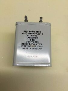 0-25uf-2500v-Nitrogel-Paper-In-Oil-Capacitor-Audio-Amplifier-Audio-Vintage-AMP