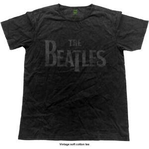 The-Beatles-Vintage-Logo-Official-Merchandise-T-Shirt-M-L-XL-Neu