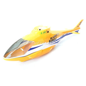 Details about Genuine E-Sky Honey Bee King 4 Fuselage Canopy YELLOW 002831