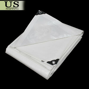12-mil-Heavy-Duty-Reinforced-Canopy-Tarp-WHITE-3pl-Coated-Tent-Car-Boat-Cover