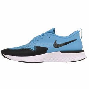 Nike-Odyssey-React-2-Flyknit-Running-Mens-Shoes-Blue-Lagoon-AH1015-402