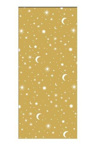 1 Pack de haute qualité Constellations Planète Étoiles Designer papier tissu