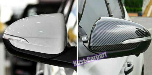 NEW ABS carbon fiber Rearview mirror cover trim for Hyundai Elantra 2019-2020 2x