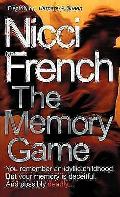 The Memory Game, French, Nicci, Very Good Book