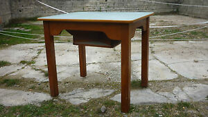 alter antiker kneipentisch karten skat wirtshaustisch spieltisch ...