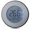 Termostato-Ambiental-Redondo-con-Dreh-Bedienung-Cajetin-Oculto-Aluminio-Plata thumbnail 1
