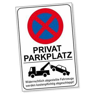 parkverbotsschild privatparkplatz hochkant parken verboten. Black Bedroom Furniture Sets. Home Design Ideas