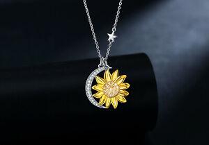 Valentine gift Silver Star Necklace
