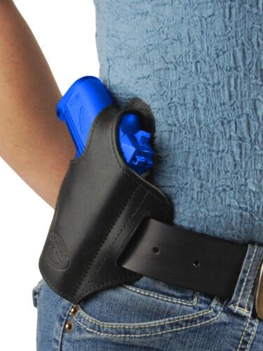 FEG 22 25 380 Mag Pouch Makarov NEW Barsony Black Leather Pancake Gun Holster