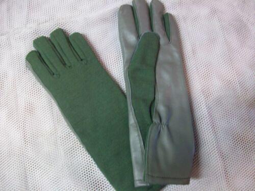 Nouveau USGI Hiver Thinsulate Nomex Flight Gants Feuillage Vert Sauge Taille 11