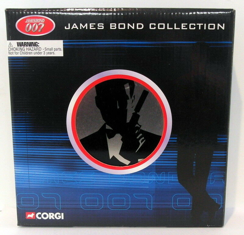 Corgi Appx 1 64 Scale TY95903 James Bond 007 Film Canister 4 Piece Gift Set