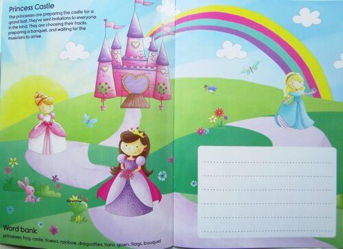 Educational Childs écrire une Histoire Livre Facile à Nettoyer Réutilisable créer écrire sort Boy