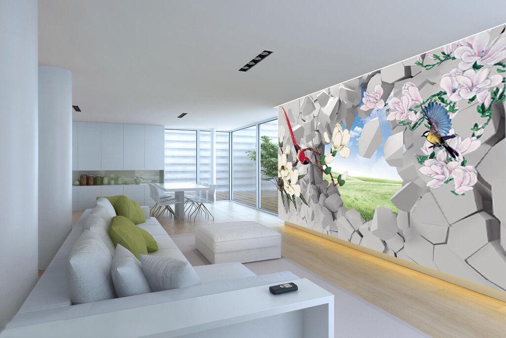 3D Wandblumen 56 Tapete Tapeten Mauer Foto Familie Tapete Wandgemälde DE
