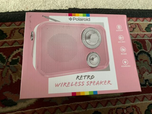 Polaroid Rugged Wireless LED Portable /& Rechargeable Bluetooth Speaker