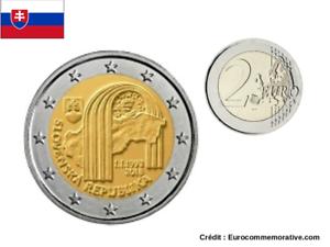 2 Euros Commémorative Slovaquie 2018 - Republique - UNC