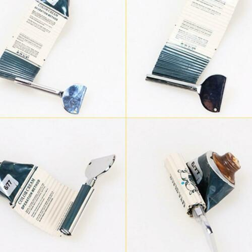 Stainless Tube Toothpaste Squeezer Key Dispenser Wringer Easy Squeeze Tool
