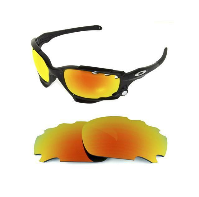 25287878c86 Copy of Polarized Vented Fire Red Custom Lens for Oakley Jawbone Racing Jac  for sale online