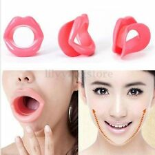 Silicone Rubber Functional Face Slimmer Exercise Mouth Piece Muscle Anti Wrinkle