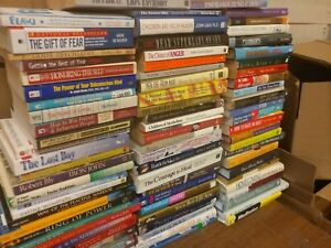 Lot-of-20-PSYCHOLOGY-SELF-HELP-ESTEEM-THERAPY-RECOVERY-INSPIRE-Book-MIX-UNSORTED