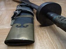 Chinese Antique Quing Dynasty Dao Niu Wei Wootz Sword