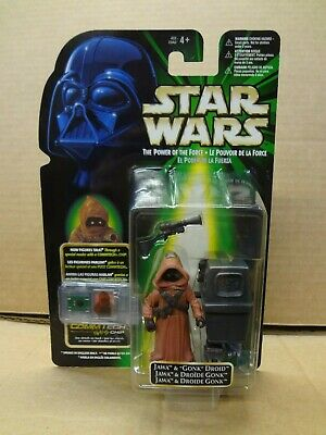 Star Wars Flashback Jawa with Gonk Droid MINT ON CARD
