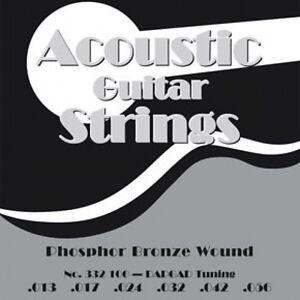 PYRAMID Akustik Gitarre .011-.047 Saiten SATZ Acoustic Silver-Plated Wound