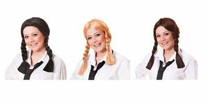 SCHOOL-GIRL-WIG-ALL-COLOURS-DOROTHY-PLAITS-PIGTAILS-HALLOWEEN-FANCY-DRESS-ADULT