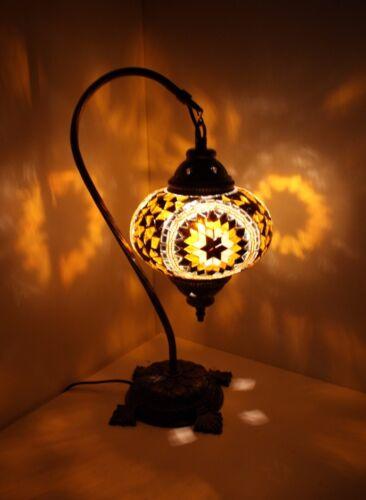Mosaiklampe L orientalische Lampe Stehlampe Tischlampe Samarkand-Lights Gold