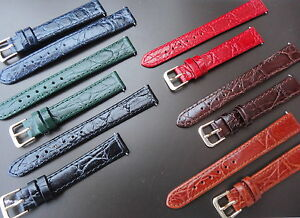 QUALITY-ITALIAN-LEATHER-STRAP-GOLD-PLATED-BUCKLE-2-SPRING-BARS-FOR-YOUR-WATCH