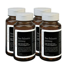 Saw Palmetto 3200mg - 12 months supply - Standardised to contain 95% fatty acids