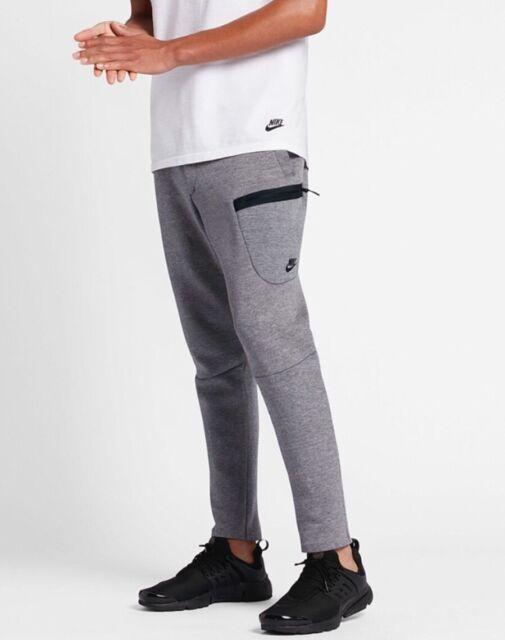 22f9aafad25b Nike Tech Fleece Sweat Pants Joggers Dark Grey Black 805218-091 ...