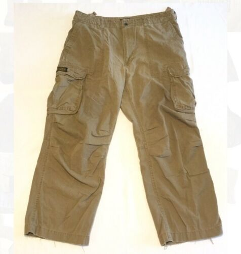 Military Cargo Men's Polo Lauren Brown Company Ralph Cotton Jeans 38x30 Pants wU0xqRA8