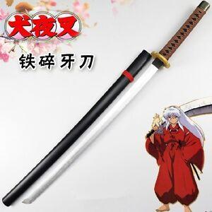 Anime Inuyasha Tessaiga Calamity Katana Wood Sword Cosplay Prop With