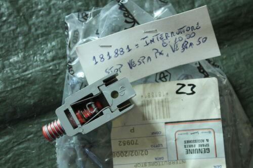 N52 Vespa V50 PV PK ORIGINAL Bremslichtschalter 181881 PK XL 2 PX 80 125 T5