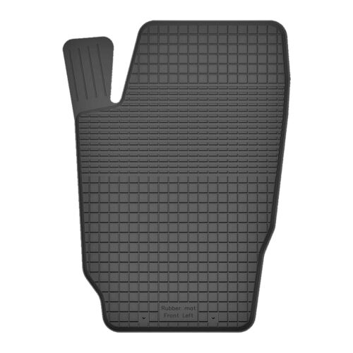 Universal Gummimatten Fußmatten Fahrerseite für Volkswagen Fox 2003-2011