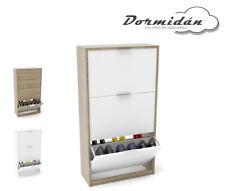 Zapatero 3 puertas, mueble auxiliar, gran capacidad de almacenaje varios colores