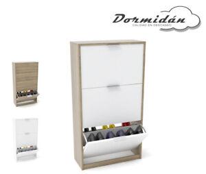 Zapatero-3-puertas-mueble-auxiliar-gran-capacidad-de-almacenaje-varios-colores
