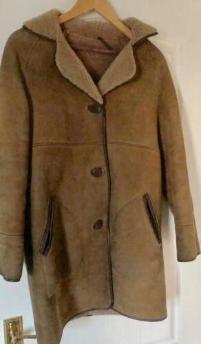 Coat Vintage Sheepskin Real Real Sheepskin Yw60qZw