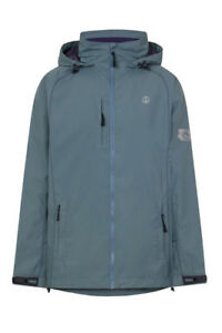 Lazy-Jacks-Men-039-s-LJ60-Slate-Blue-Waterproof-Raincoat-Jacket
