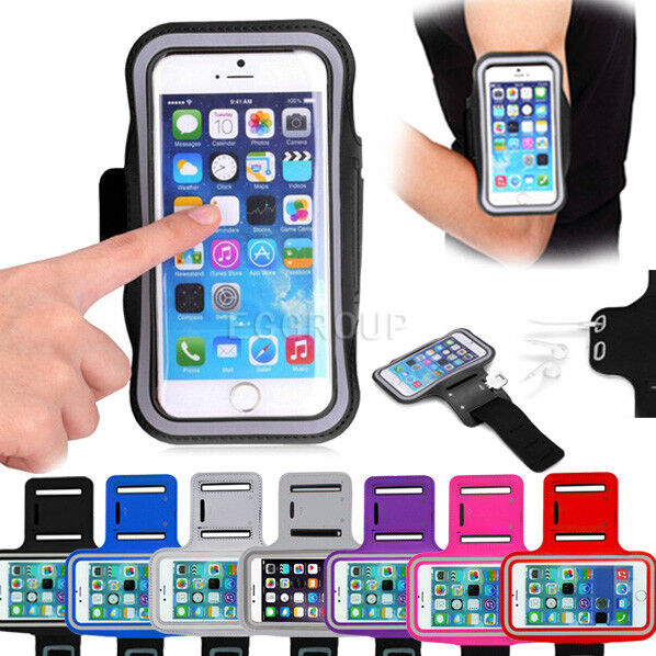 Gym Running Jogging Sports Armband Exercise Case Cover Arm Band For Cell Phones
