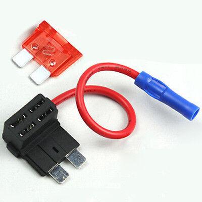 Add A Circuit Fuse Tap Standard Blade Fuse Holder+10A ATO//ATC-Blade Fuse Set SU