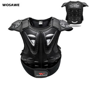 Kids Children Body Armour Jacket Vest Chest Outdoor Extreme Sport Protection UK