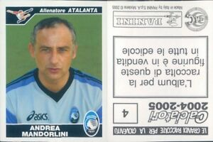CALCIATORI-PANINI-2004-05-Figurina-sticker-N-4-NEW