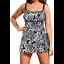 Tankini-Plus-Size-14-16-18-20-22-24-Floral-Swimwear-Bathers-Swimdress-Swimsuit thumbnail 1