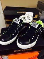 Authentic Converse Junior/youth ct Street Slip  Black Electro Yellow